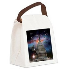 dc Canvas Lunch Bag