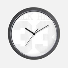 polkhigh33-W Wall Clock