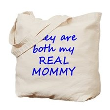 Real Mommy - Blue Tote Bag