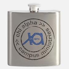 XA GA State logo Flask