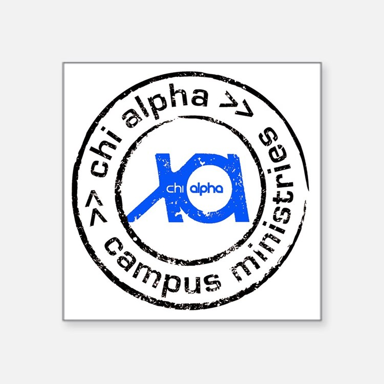 "XA GA State logo Square Sticker 3"" x 3"""