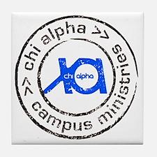XA GA State logo Tile Coaster
