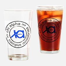 XA GA State logo Drinking Glass