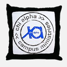 XA GA State logo Throw Pillow