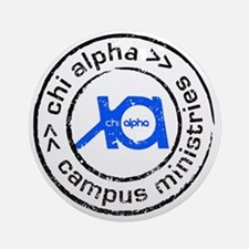 XA GA State logo Round Ornament