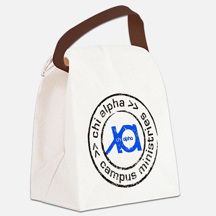 XA GA State logo Canvas Lunch Bag