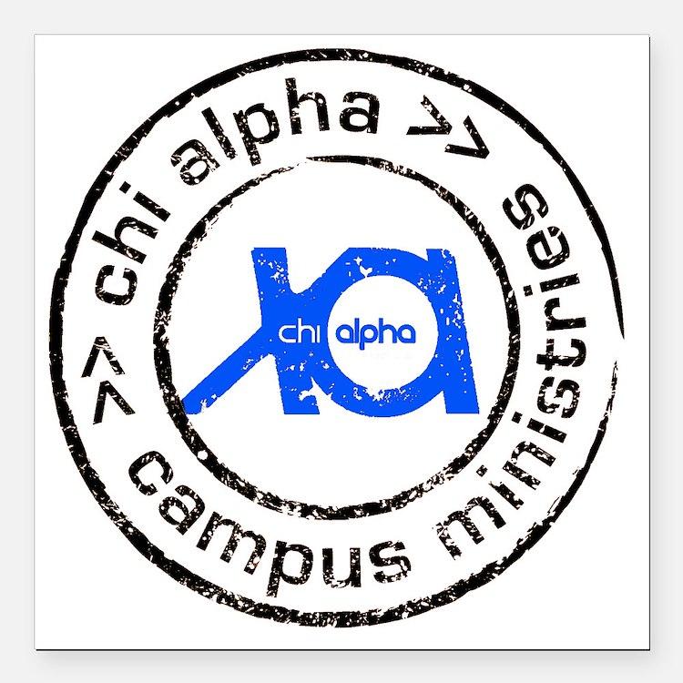 """XA GA State logo Square Car Magnet 3"""" x 3"""""""