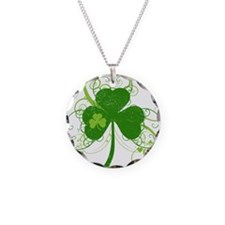 fancyshamrocknew Necklace Circle Charm