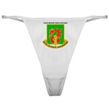 DUI-504TH MILITARY PLC BN  WITH TEXT Classic Thong