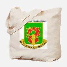 DUI-504TH MILITARY PLC BN  WITH TEXT Tote Bag