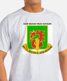 DUI-504TH MILITARY PLC BN  WITH TEXT T-Shirt
