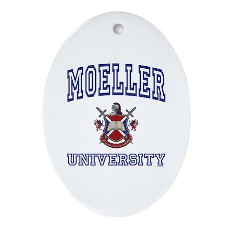 MOELLER University Oval Ornament