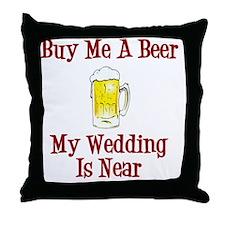 Wedding is Near Throw Pillow