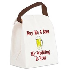 Wedding is Near Canvas Lunch Bag