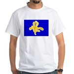 Brussels Flag White T-Shirt