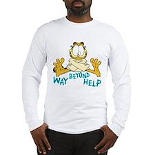 Beyond Help Garfield Long Sleeve T-Shirt