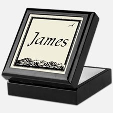 Chaucer Font Bookplate Storage Box, James