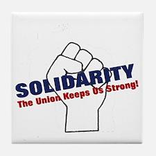 solidarity10 Tile Coaster