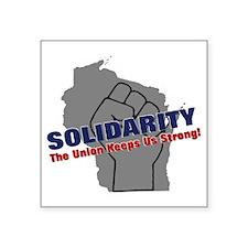 """solidarity11 Square Sticker 3"""" x 3"""""""