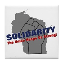 solidarity11 Tile Coaster