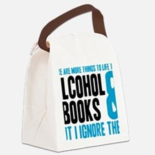 alchybooks Canvas Lunch Bag