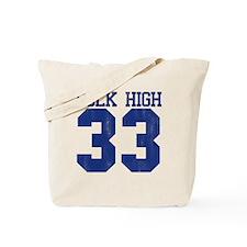 polkHigh33-B Tote Bag