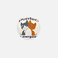 purrfect kitten Mini Button