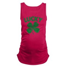 4 Leaf Lucky Maternity Tank Top