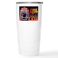 FIRE LIC Travel Coffee Mug