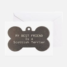 Friend Scottish Terrier Greeting Cards (Package of