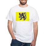 Flanders Flag White T-Shirt