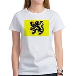 Flanders Flag Women's T-Shirt