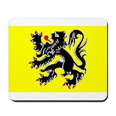 Flanders Flag Mousepad