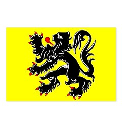Flanders Flag Postcards (Package of 8)