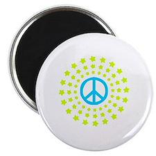 Peace Burst Color Magnet