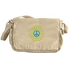 Peace Burst Color Messenger Bag