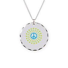 Peace Burst Color Necklace