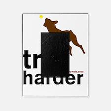 Tri Harder Boxer Blanket Picture Frame