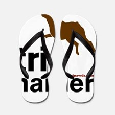Tri Harder Boxer Blanket Flip Flops