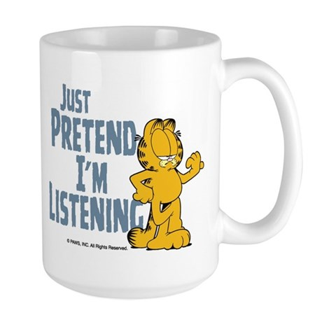 Just Pretend Large Mug