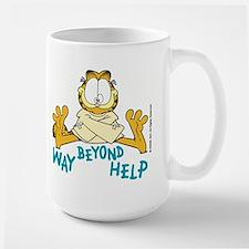 Beyond Help Garfield Mug