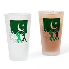 cricket pak dark Drinking Glass