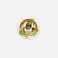 Tri Lucky Charm Mini Button