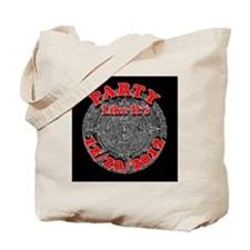 mayan calendar party 2012 (black) Tote Bag