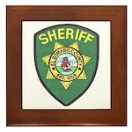 El Dorado Sheriff Framed Tile