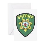 El Dorado Sheriff Greeting Cards (Pk of 10)