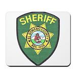 El Dorado Sheriff Mousepad