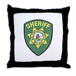 El Dorado Sheriff Throw Pillow