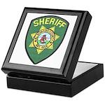 El Dorado Sheriff Keepsake Box