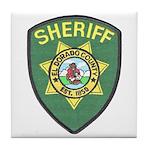 El Dorado Sheriff Tile Coaster
